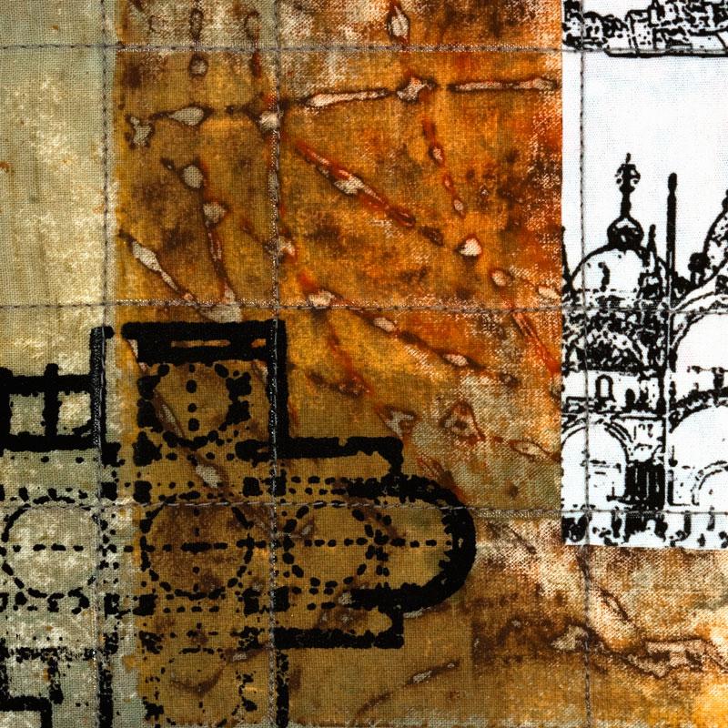 Venise triptych detail