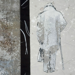 Snow Falls detail
